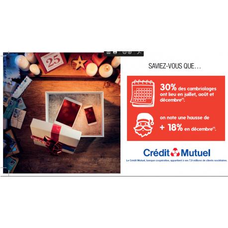 Les solutions de télésurveillance du Crédit Mutuel
