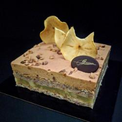 Gâteau eclat d'automne sans gluten