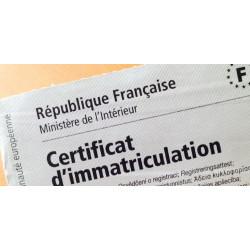 Démarches administratives - Inscription cession véhicule