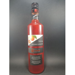 Sirop orange sanguine