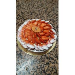 Tarte aux fraises 6 personnes